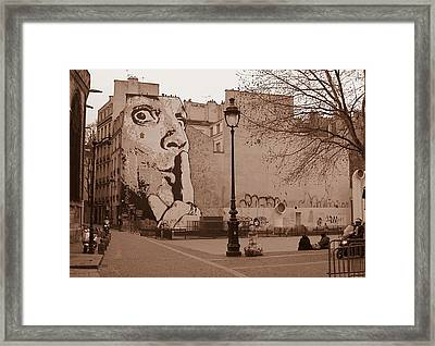 Framed Print featuring the photograph shh by Blake Yeager