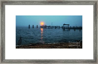 Framed Print featuring the photograph Shhh Listen by Clayton Bruster