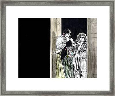 Shhhh Framed Print by Mel Thompson