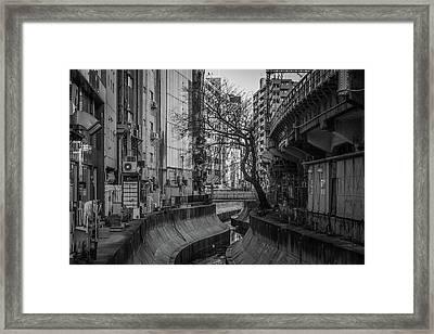 Shibuya River Framed Print by photos by Ignat Gorazd