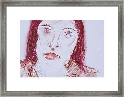 Shield Framed Print by Iris Gill