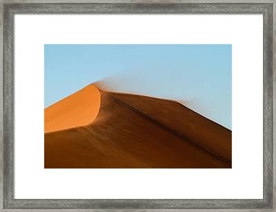 Shifting Sand Framed Print