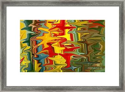 Shimmer Framed Print