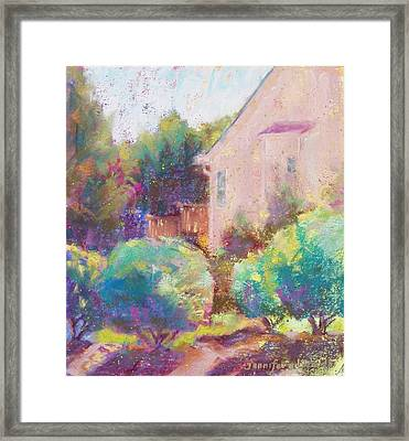Shimmer Of Light Framed Print