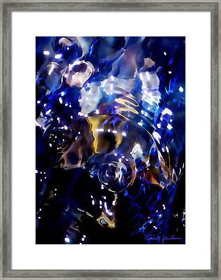 Shimmering Lights Framed Print