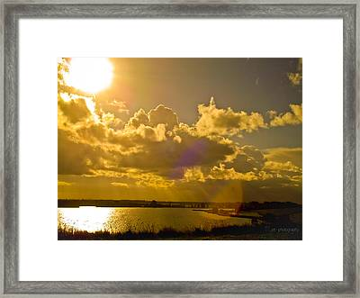 Shine Your Light On Me Framed Print