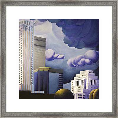 Shining Framed Print by Duane Gordon