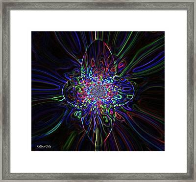 Shining Star Framed Print by Katina Cote