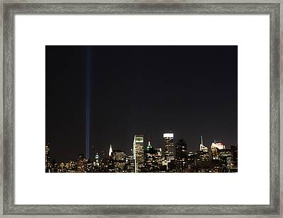 Shining Up  Framed Print by Catie Canetti