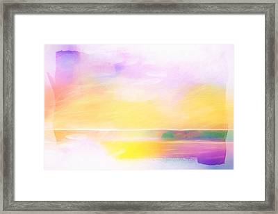 Shining Vision Framed Print