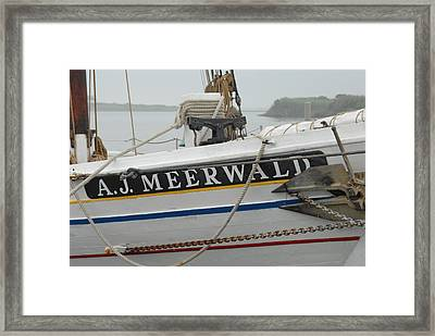 Ship 28 Framed Print by Joyce StJames