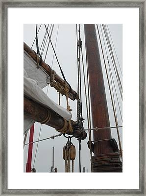 Ship 30 Framed Print by Joyce StJames