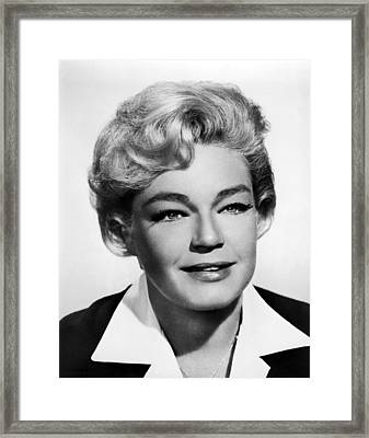 Ship Of Fools, Simone Signoret, 1965 Framed Print by Everett