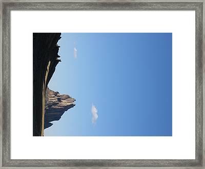 Shiprock Framed Print by FeVa  Fotos