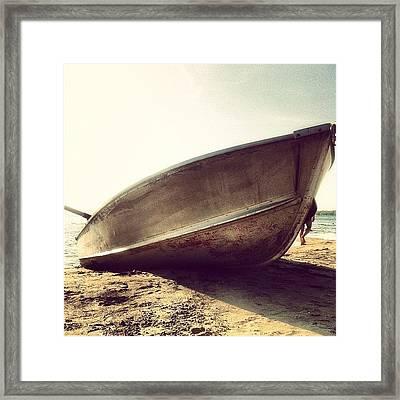Shipwrecked Framed Print