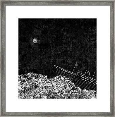Shipwrecked II  Framed Print