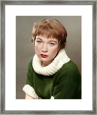 Shirley Maclaine, Late 1950s Framed Print by Everett