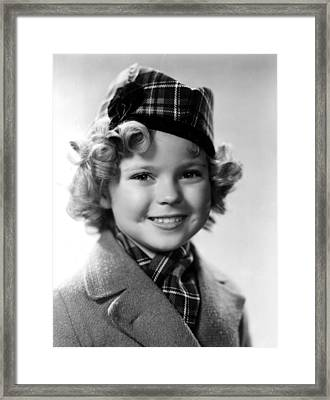 Shirley Temple, 1935 Framed Print