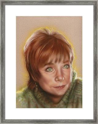 Shirley Framed Print by Timothy Scoggins