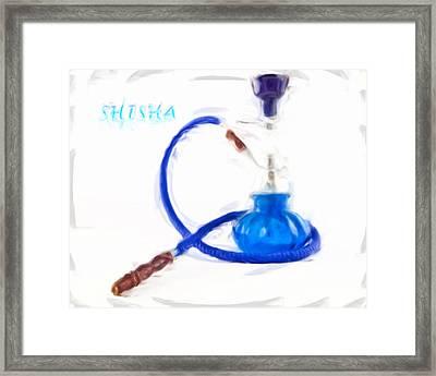 Shisha Painting Framed Print