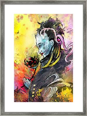 Shiva Diva Framed Print