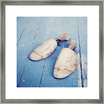 shoe trees II Framed Print by Priska Wettstein