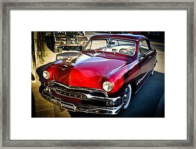 Shoebox Car Framed Print by Ronda Broatch