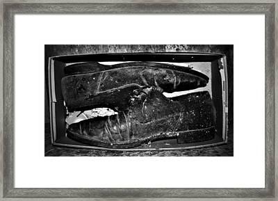 Shoebox Framed Print by Empty Wall