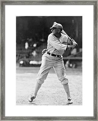 Shoeless Joe Jackson  (1889-1991) Framed Print by Granger