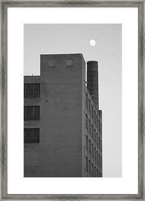 Shoot The Moon      Tall Version Framed Print by Artist Orange