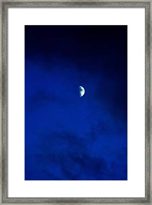 Framed Print featuring the photograph Shoot The Moon by Randall  Cogle