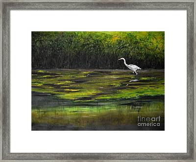 Shore Patrol Framed Print