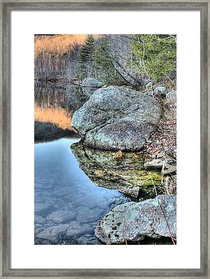Shorelines  Framed Print by JC Findley