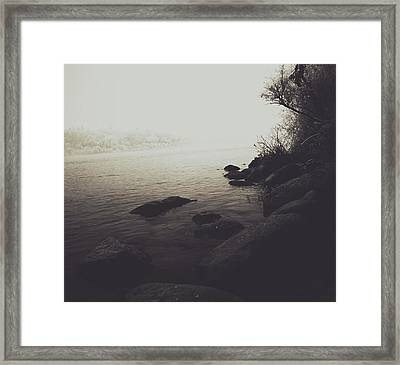 Shores Decore Framed Print by Empty Wall