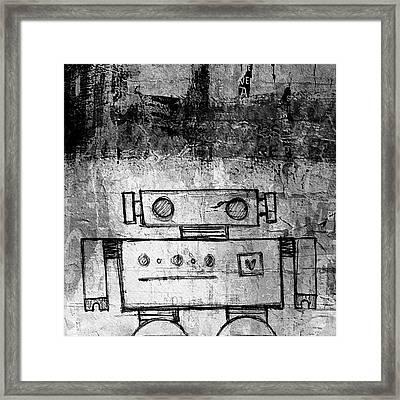Short Bot Framed Print