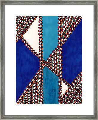 Shoshone Passages Framed Print