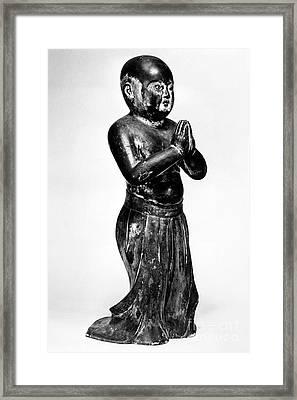 Shotoku Taishi (574-622) Framed Print by Granger