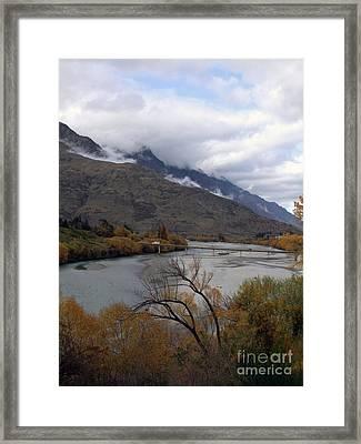 Shotover 3 Framed Print by Karen Lewis