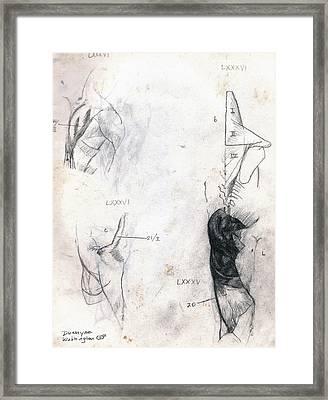 Shoulder Lxxxiv Framed Print by Duwayne Washington