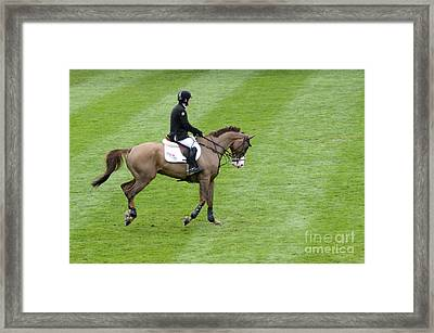 Show Jumping 5 Framed Print