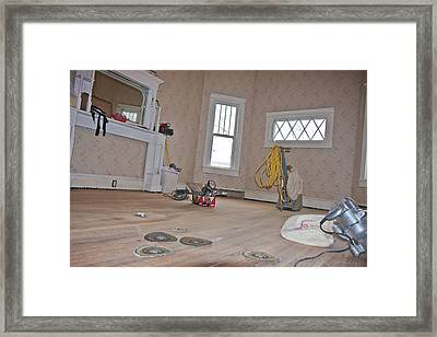 Show Me    Sand The Floor Framed Print by Betsy Knapp