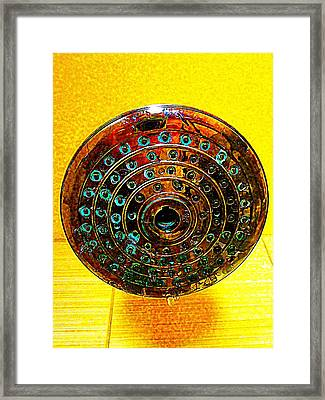 Shower Framed Print by Randall Weidner