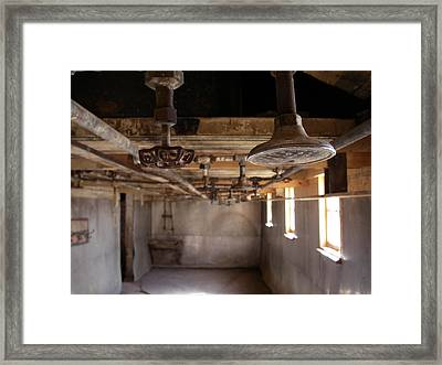 Framed Print featuring the photograph Showers Coalmine by Brian Sereda