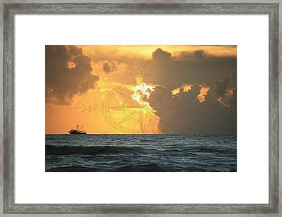 Shrimp Boast Sunrise II Framed Print