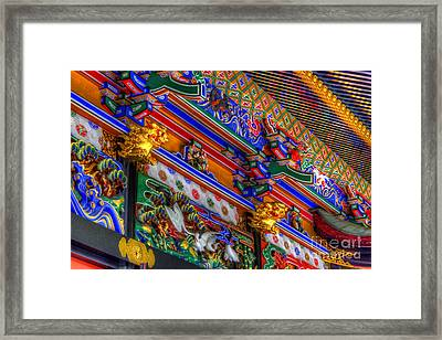 Framed Print featuring the photograph Shrine-5 by Tad Kanazaki