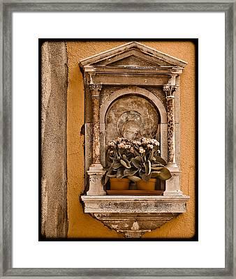 Shrine Framed Print