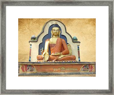Shrine Framed Print by Sophie Vigneault