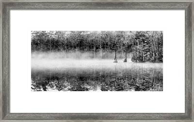 Shrouded Panoramic  Framed Print