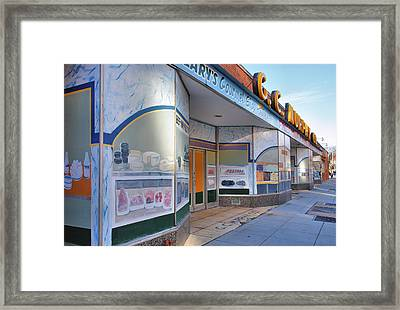 Shuttered Food Store Framed Print by Steven Ainsworth