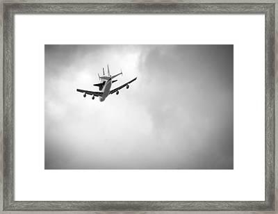 Shuttle Enterprise Shuttlebutt Framed Print by Anthony S Torres